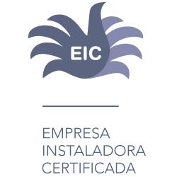 Sello empresa instaladora certificada