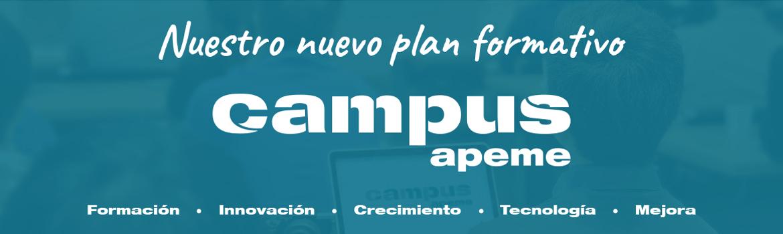 Nuestro nuevo plan formativo: Campus APEME