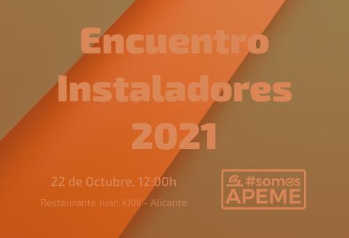 Encuentro instaladores 2021