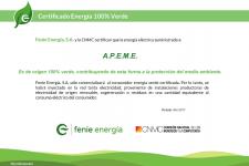 APEME 100% verde