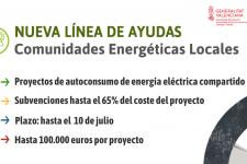 Ayudas fomentar instalaciones de autoconsumo en comunidades de energías renovables
