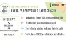 Deducción IRPF de inversiones en Autoconsumo y energías renovables