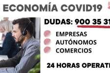 Teléfono asistencia GVA dudas empresariales y laborales