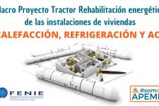 Calefacción, refrigeración y ACS (Sustitución bomba de calor) del macroproyecto tractor