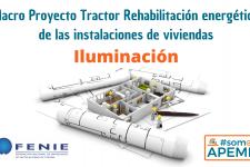 La sustitución de lámparas convencionales por LEDs en el Macroproyecto Tractor para la rehabilitación de las instalaciones en edificios