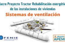 La instalación de sistemas de ventilación mecánica controlada que aseguren una adecuada renovación del aire