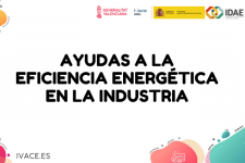 Ampliación del plazo de presentación para Ayudas de eficiencia energética