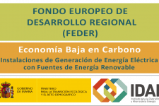 Ayudas a la inversión en instalaciones de generación de energía eléctrica con fuentes de energía renovable en la Comunitat Valenciana