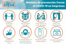 Cartel medidas preventivas COVID-19 para tu empresa