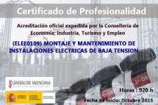Certificado de Profesionalidad en B.T.