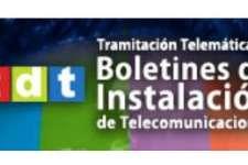 Tramitacion boletines telecomunicaciones