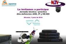 Invitación Taller sistemas videovigilancia