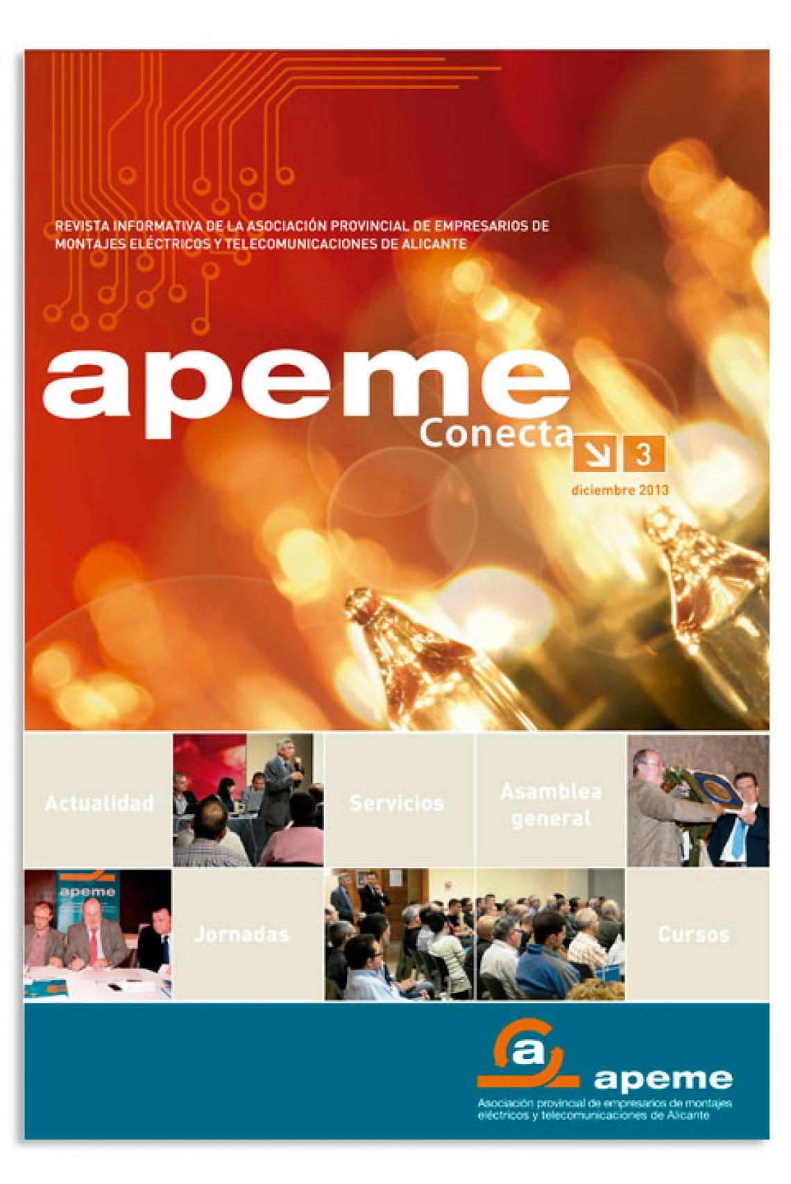 Revista APEME Conecta 3 - Diciembre 2013