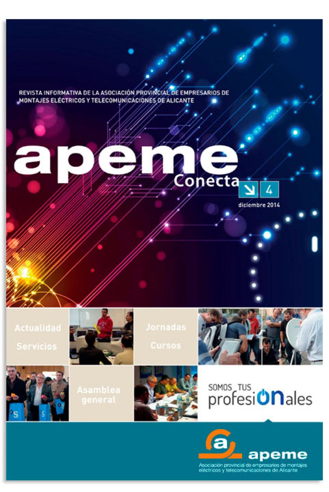 Revista nº 4 - APEME Conecta - Diciembre 2014