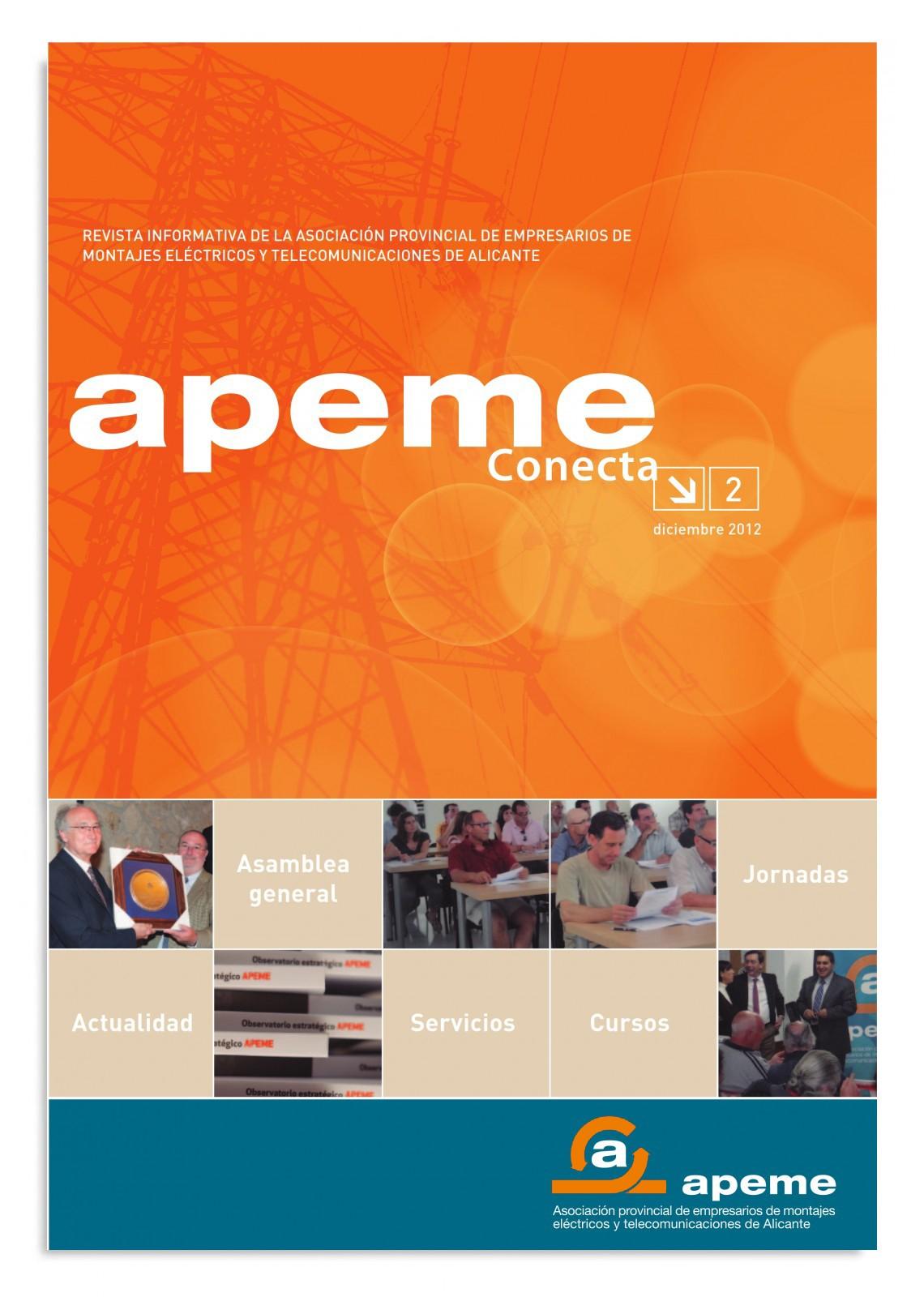 Revista APEME Conecta 2 - Diciembre 2012
