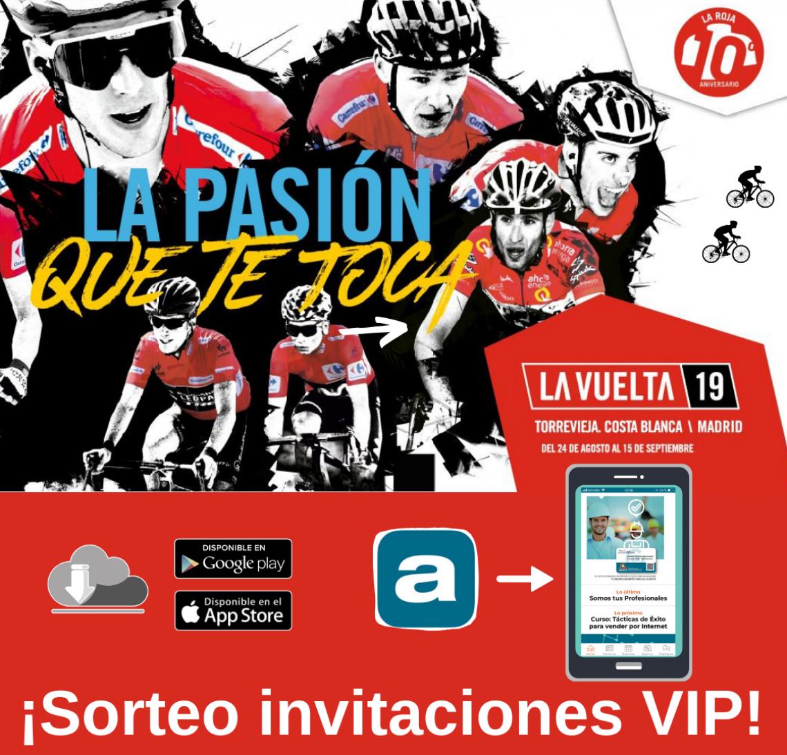 Sorteo 2 invitaciones VIP dobles para La Vuelta