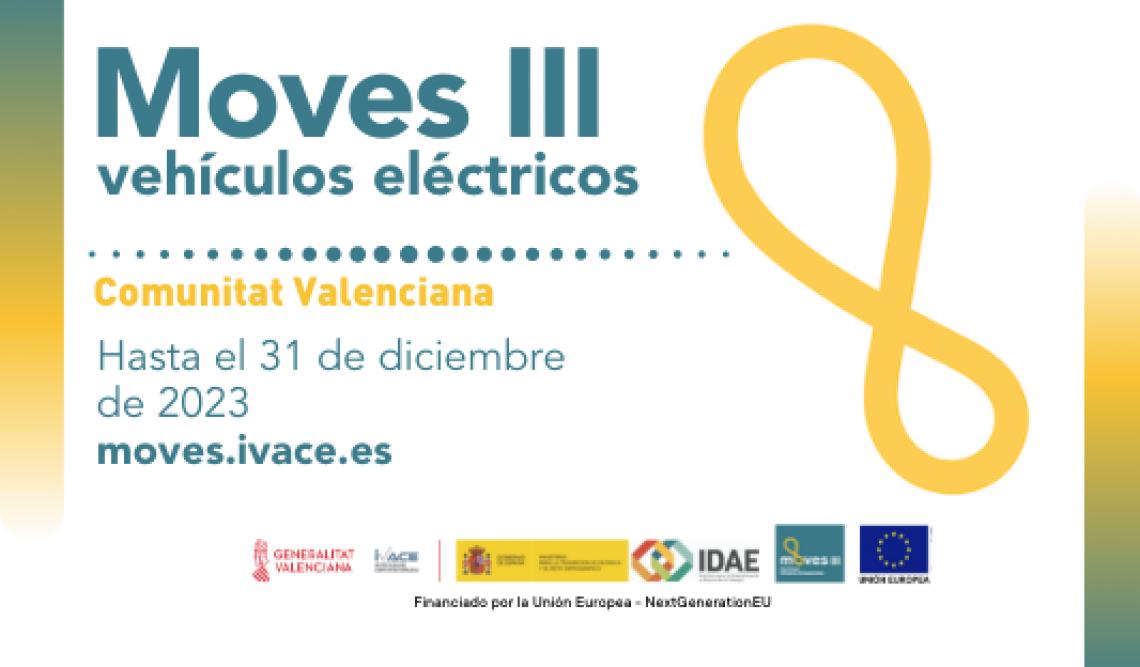 Ayudas para vehículos eléctricos Comunidad Valenciana. Programa MOVES III