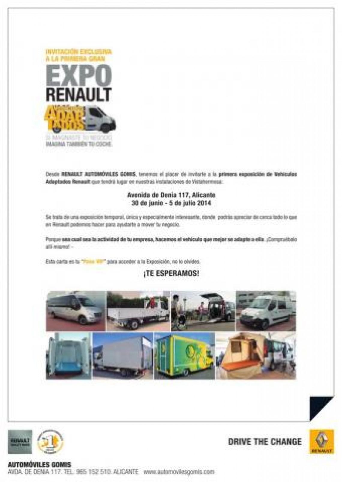 Invitación Semana de Puertas Abiertas Renault Empresas