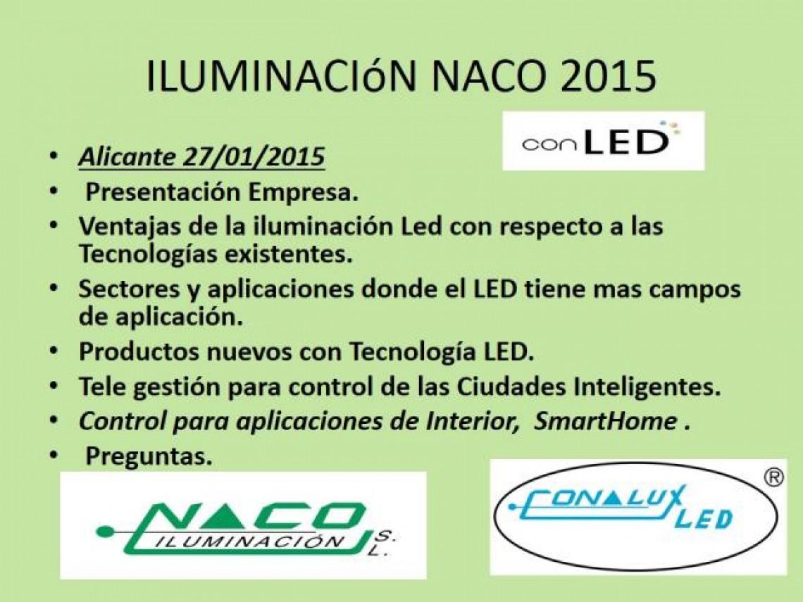 Jornada Iluminación LED Conalux