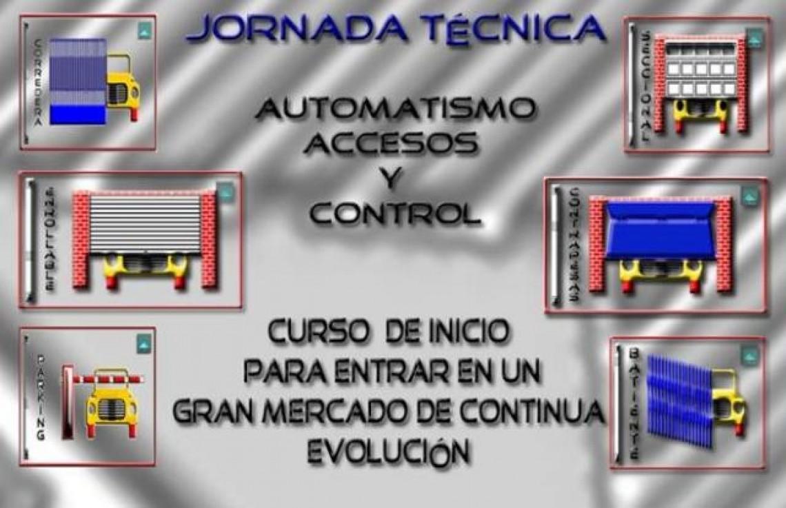 Jornada Técnica Automatismos Accesos y Control