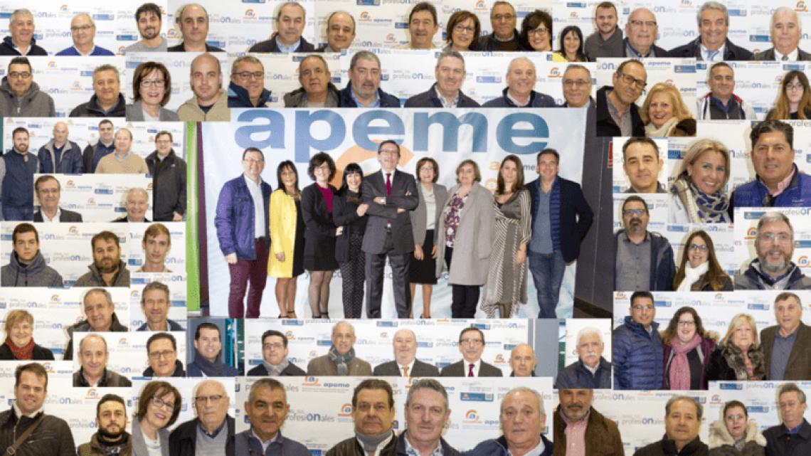 Imagen global asociados APEME en Candelaria 2018