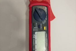 Pinza amperimétrica detección fugas de corriente