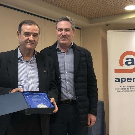 Premio Campus APEME 2019:Pepe Rubio, colaborador incansable de la Asociación, la ilusión de una vida entera dedicada a la Formación Profesional.