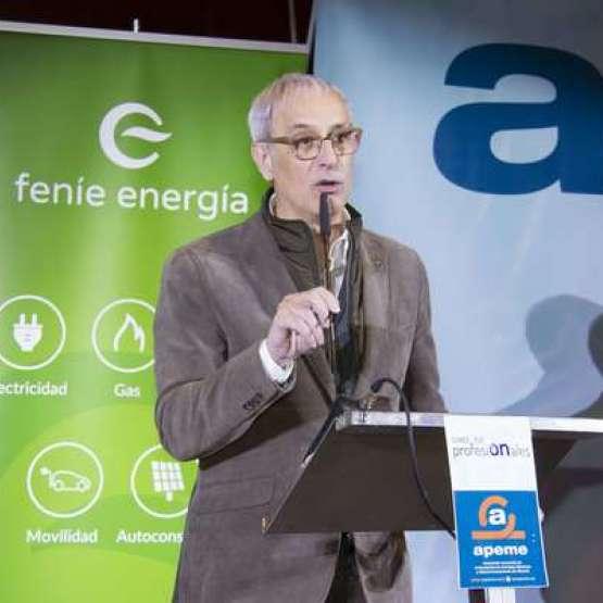 Sergio Pomar, presidente de Fenie Energía