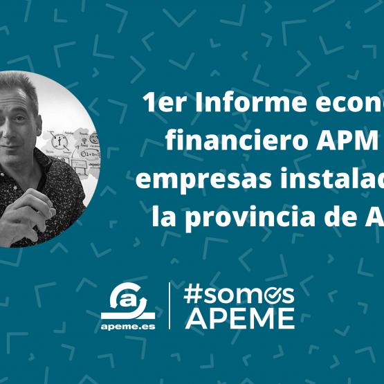 Primer informe económico y financiero APEME de las empresas instaladoras en la provincia de Alicante