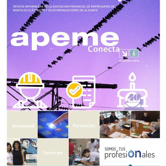 APEME Conecta N6 2016 - Tarifas Publicidad