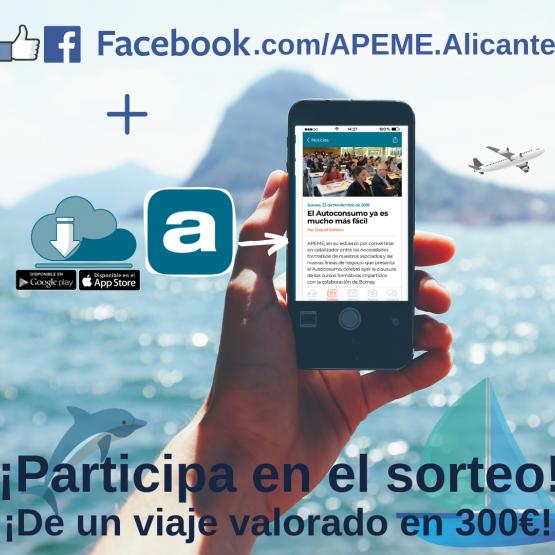 Sorteo Facebook y APP APEME