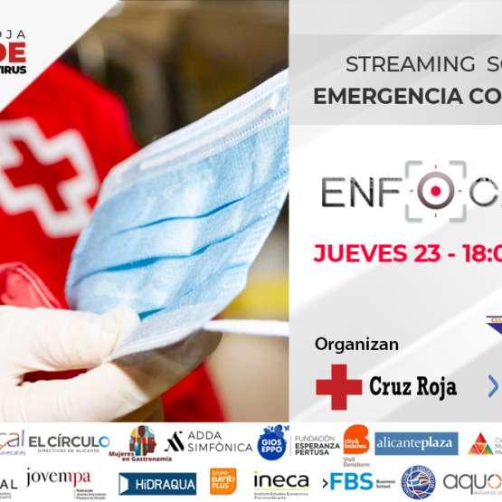 Streaming solidario Cruz Roja COVID19