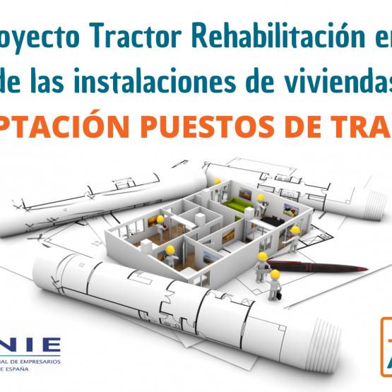 La adaptación al teletrabajo y el hotdesking en el Macroproyecto Tractor para la rehabilitación de las instalaciones en edificios