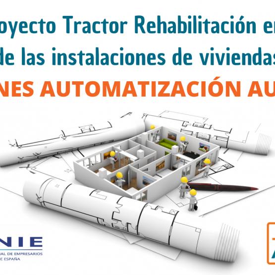 La instalación de soluciones autónomas en el macroproyecto tractor para la rehabilitación de las instalaciones en edificios